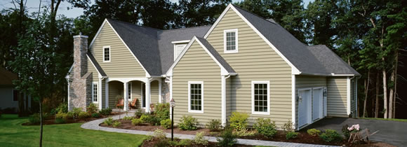 Lexington siding replacement model home